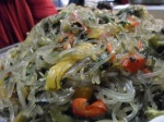 """japchae"" - sweet potato noodle"