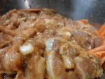 "marinated pork meat for ""deugi bulgogi"""